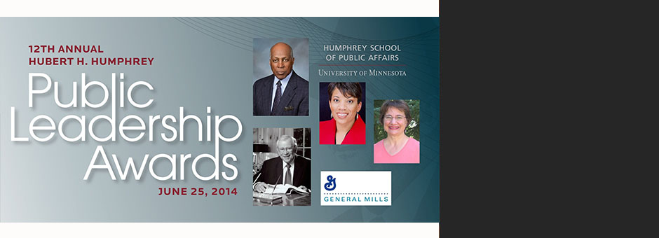 12th Annual Hubert H. Humphrey Public Leadership Awards