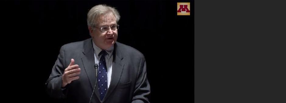 Humphrey School Dean Delivers Keynote at U's Global Health Day
