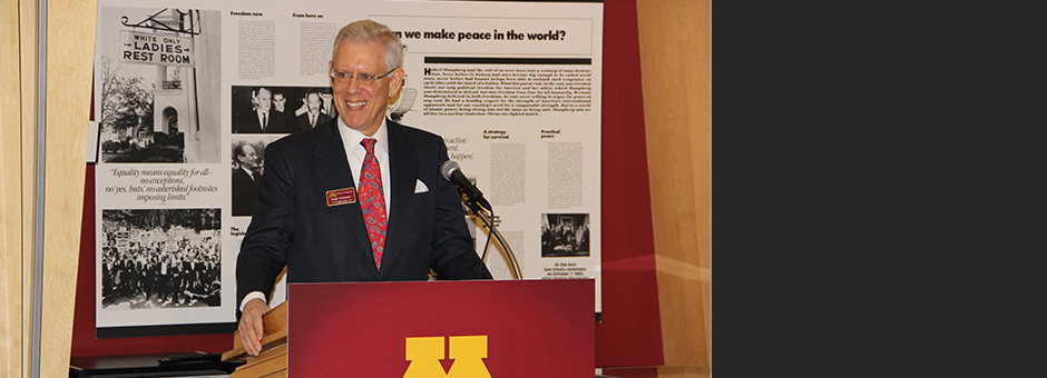 Former Star Tribune Publisher receives Award of Distinction from University of Minnesota Board of Regents