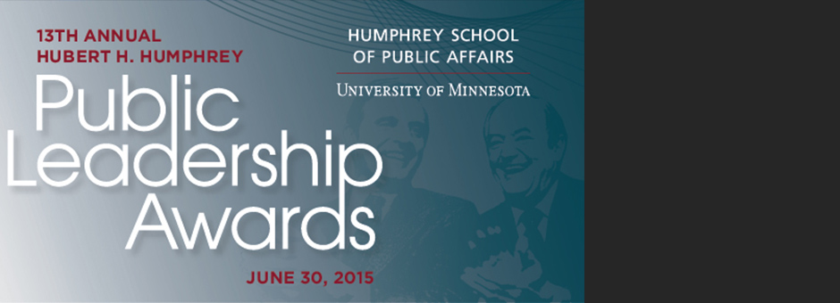 Public Leadership Awards Honor Life and Legacy of Walter F. Mondale